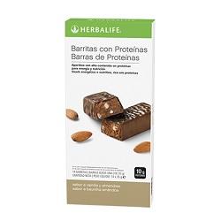 Barritas con Proteínas - Vainilla con Almendras (14 u.)